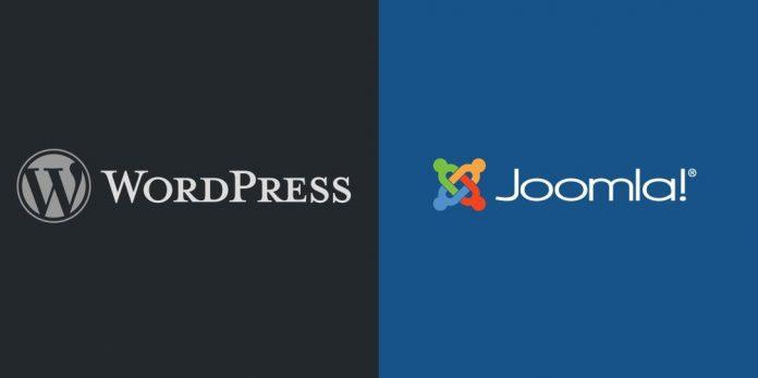 wordpress và joomla